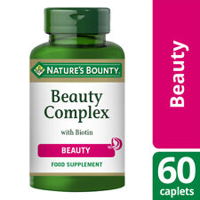 Nature's Bounty Beauty Complex with Biotin - 60 Caplets