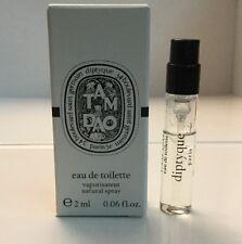Diptyque Tam Dao Eau de Toilette EDT Fragrance Spray 2ml / .06oz Sample Unisex