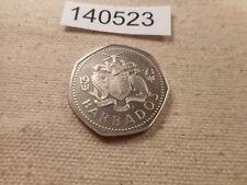 1973 Barbados One Dollar Proof Very Nice Collector Grade Album Coin - # 140523