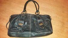 Black Real leather bag