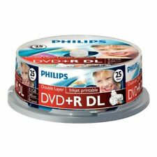 CD, DVD e Blu-Ray vergini Philips per l'archiviazione di dati informatici per 8,5GB
