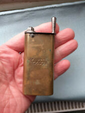 Victorian BRASS  Pocket TOBACCO WAD Cutter 3 inches  ' Ingenoius Mechanism ' Vgc