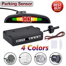 Set 4 Sensores Sonoros de Aparcamiento Car Parking Sensor Pantalla LED Monnitor
