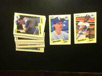 1990 Fleer Seattle Mariners Team 24 Baseball Cards Ken Griffey Jr-MINT-Free Ship
