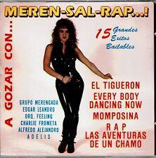 A Gozar Con   Meren-Sal-Rap  15  Grandes Exitos      BRAND NEW FACTORY SEALED CD