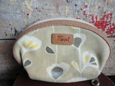 FOSSIL KEY-PER MAKE-UP CASE WITH VINYL LINING