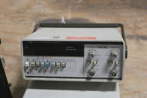 AGILENT / HP 5314A UNIVERSAL 100 MHz FREQUENCY COUNTER