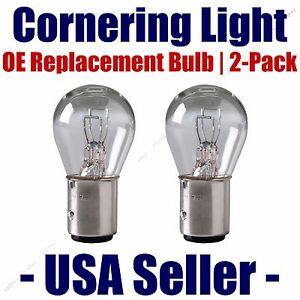 Cornering Light Bulb OE Replacement 2pk - Fits Listed Oldsmobile Vehicles - 1157