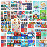 5D Diamond Painting Christmas Birthday Greeting Card Cross Stitch DIY Xmas Craft