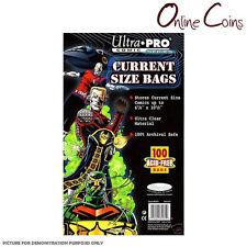 Ultra Pro Current Comic Bags 100ct