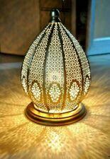 Moroccan Turkish Bed Side Lamps Vintage Design Floor Gold Table Decor Lamp