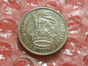 1931 George V shilling.