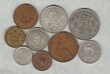 More details for 1944 george vi part set of 9 coins good fine or better