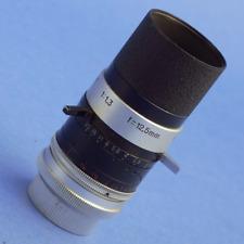Kern-Paillard Switar 12.5mm 1.3 H8 RX Lens