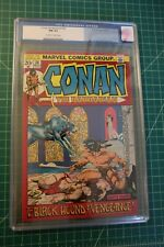 CONAN THE BARBARIAN #20 CGC GRADED AT 9.4 NOV 1972 OW TO WHITE PAGES