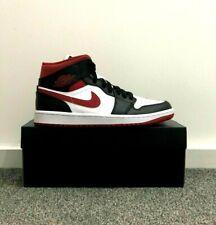Nike Air Jordan 1 Mid Metallic Red - UK8.5/US9.5/EU43 - 100% Authentic