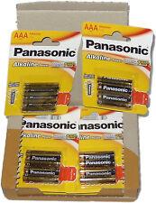 PILAS ALCALINAS AA y AAA PANASONIC ALKALINE POWER LR6 LR3 ALKALINAS