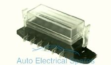 CLASSIC / KIT CAR fuse box 6 way lucar terminals / standard blade fuse type