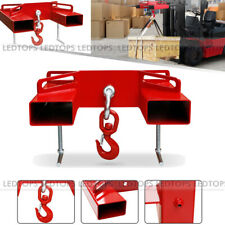 2 Trailer Hitch Receiver For Dual Pallet Forks Insert Towing Attachheavy Duty