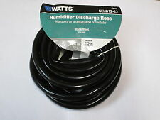 New DeHumidifier Drain Discharge Hose Watts - Black Vinyl - 12 feet - 3/4 in.