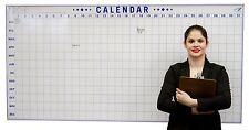"""Daily Annual Wall Calendar - UNIQUE- Dry Erase Event Calendar – 36""""x72"""""""