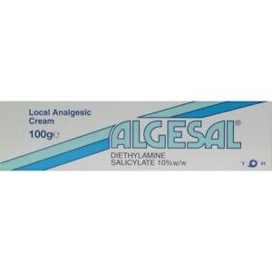 3 x Algesal Local Analgesic Cream 100g (3 tubes of 100g) - New Stock - Free P&P