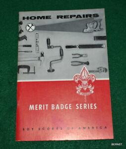 BOY SCOUT 1965 HOME REPAIRS MERIT BADGE BOOK