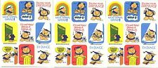 3 Sheets ZIGGY Stickers! VINTAGE 1983 School Graduation Stickers