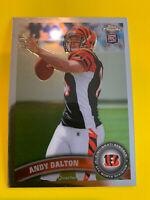 ANDY DALTON 2011 Topps Chrome Rookie #51 Cincinnati Bengals Cowboys TCU RC