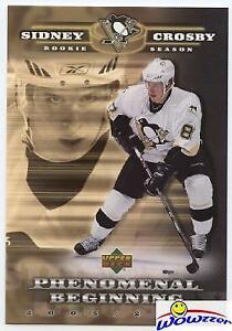 2005/06 Upper Deck #SC1 Sidney Crosby GOLD Jumbo Rookie Card MINT! Penquins FHOF