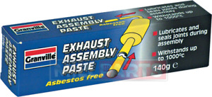 Granville Exhaust Assembly Paste Sealer Leak Proof Joint 140g