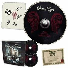 LEAVES' EYES - SIGN OF THE DRAGONHEAD (LIM,BOXSET)  2 CD NEU