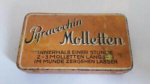 WK2 Blechdose Pyracochin Molletten Vitalonga Laboratorium Köln