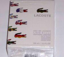 Eau de LACOSTE L.12.12 BLANC Edition Limitee pour homme 100 ml NEU OVP in Folie