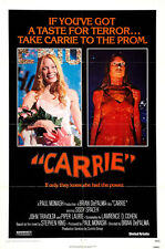 "1976 Carrie Movie Poster Replica 13x19"" Photo Print"