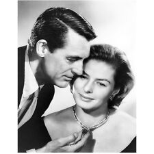 Cary Grant Close Up Holding Womans Necklace 8 x 10 Inch Photo