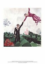 The Promenade Art Poster Print by Marc Chagall, 13x19