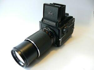 Mamiya 645 1000s Mittelformat 6x4,5cm mit Mamiya Secor C 4/210mm