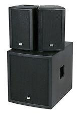 Lautsprecher Pa Anlage Dj Boxen Set Aktiv Subwoofer Sound System Soundsystem Box