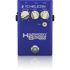 New TC-Helicon Harmony Singer 2 Live Harmonizer Vocal Processor Effects Pedal!