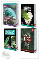 Arcadia Guide Books - Reptile Nutrition, MBD, Bio-Activity, Elements Series:Fire