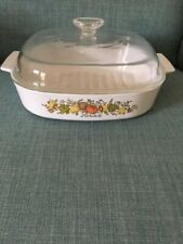 """Corningware Spice of Life L'Echalote 10"""" Cooker with Lid"""