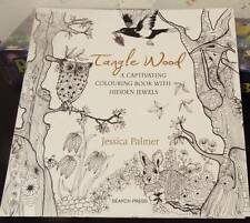 Tangle Wood Adult Coloring Book Fairy Objects Flowers Mystery FREE SHIPPING