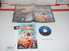POWER RANGERS: DINO THUNDER game & Manual complete GAMECUBE or Wii