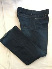 (*.*) GAP 1969 * Womens Stretch PERFECT BOOT Blue Jeans / Denim * Size 33 / 16r