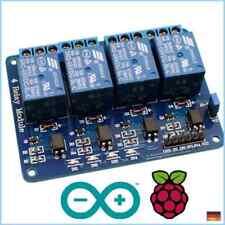 4 Kanal Relais 5V/230V Raspberry Pi Optokoppler Modul Channel Relay Arduino