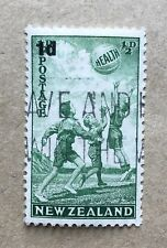 New Zealand Health 1939, SG611, surcharged good used