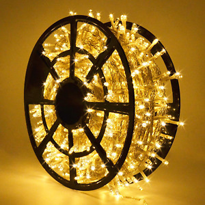 168FT 600 LED Christmas Lights Outdoor Waterproof 8 Modes Indoor Christmas Strin