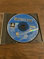 Robo Pit (Sony PlayStation 1, 1995) Ps1 No Manual Replacement Case Tested Works