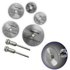 7pcs HSS Circular Wood Cutting Saw Blade Discs Extension for Rotary Tool Drill